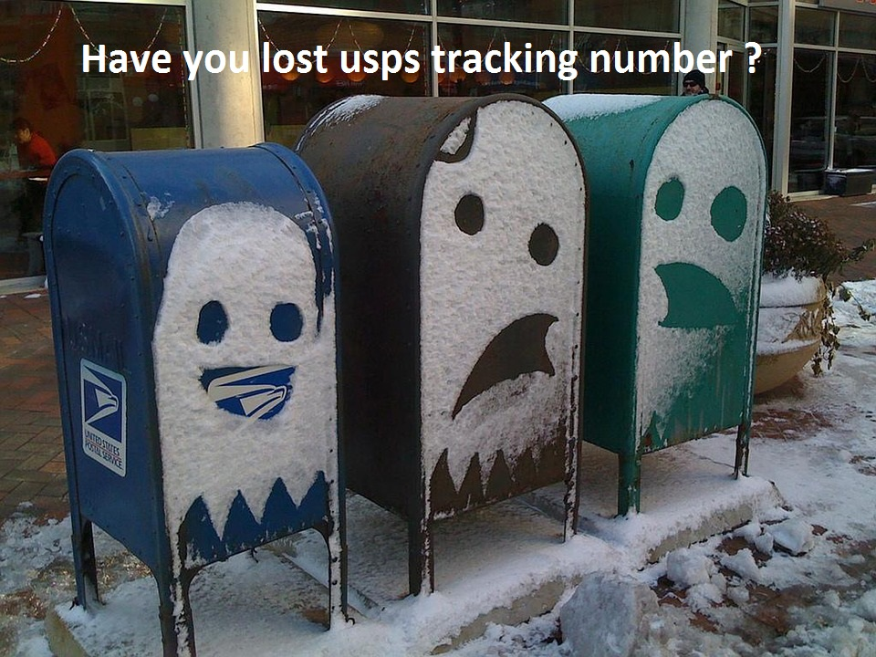 Have you lost USPS tracking number